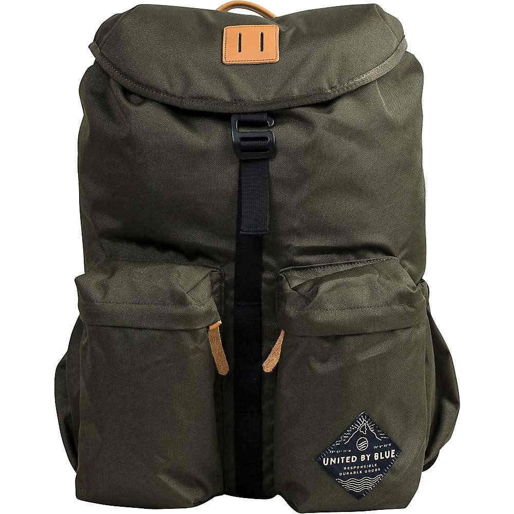 ユナイテッドバイブルー ユニセックス メンズ レディース バッグ バックパック・リュック【United By Blue 30L Base Backpack】Olive