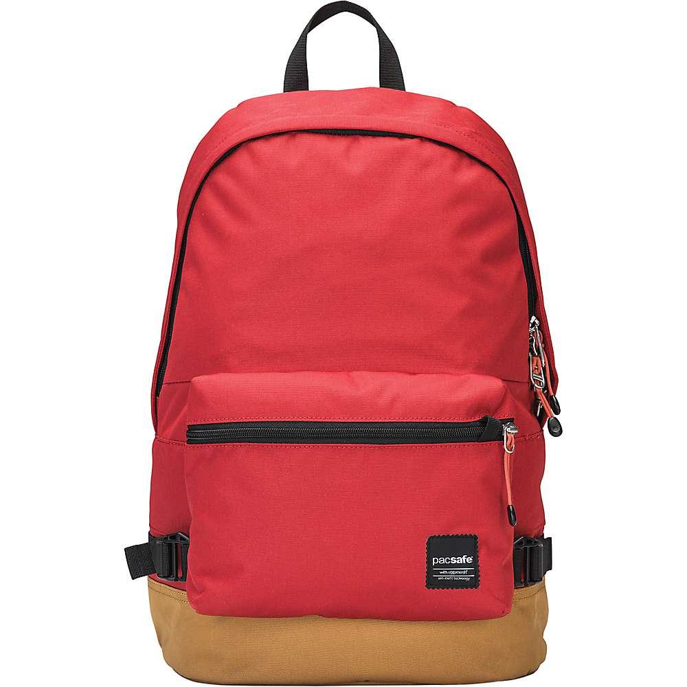 パックセイフ ユニセックス メンズ レディース バッグ バックパック・リュック【Pacsafe Slingsafe LX400 Anti-Theft Backpack】Chili / Khaki