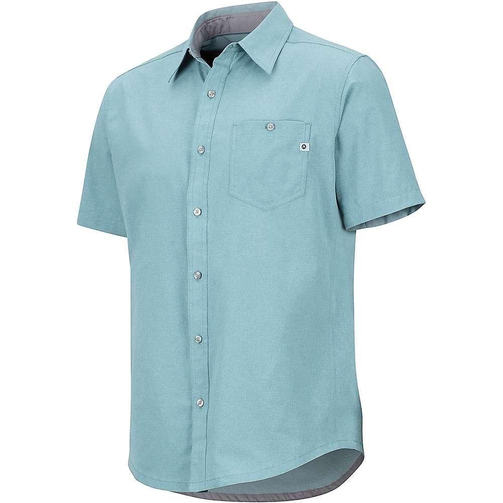 2019最新のスタイル マーモット Marmot メンズ Marmot ハイキング トップス【Windshear・登山 トップス メンズ【Windshear SS Shirt】Blue Granite, nabika:067e04a3 --- canoncity.azurewebsites.net