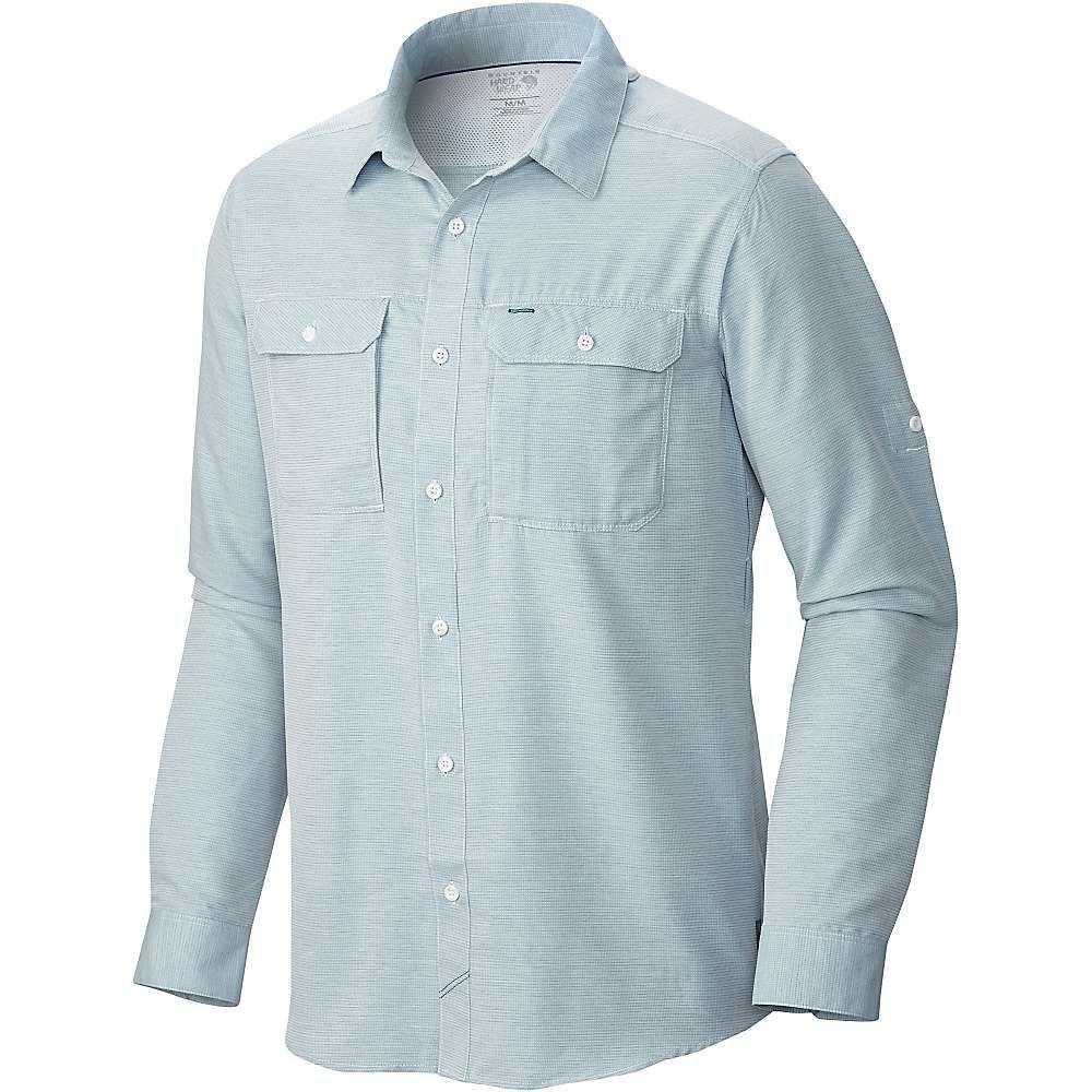 マウンテンハードウェア Mountain Hardwear メンズ ハイキング・登山 トップス【Canyon LS Shirt】Phoenix Blue