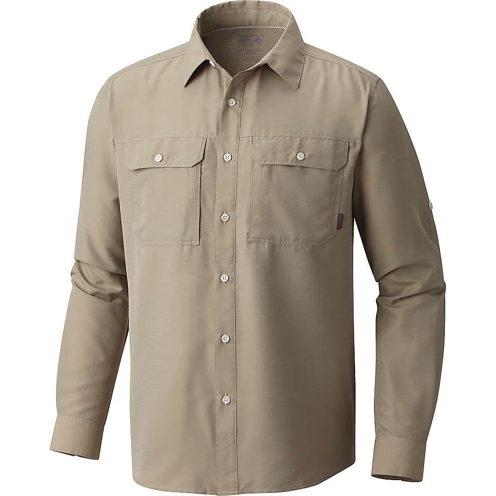マウンテンハードウェア Mountain Hardwear メンズ ハイキング・登山 トップス【Canyon LS Shirt】Badlands