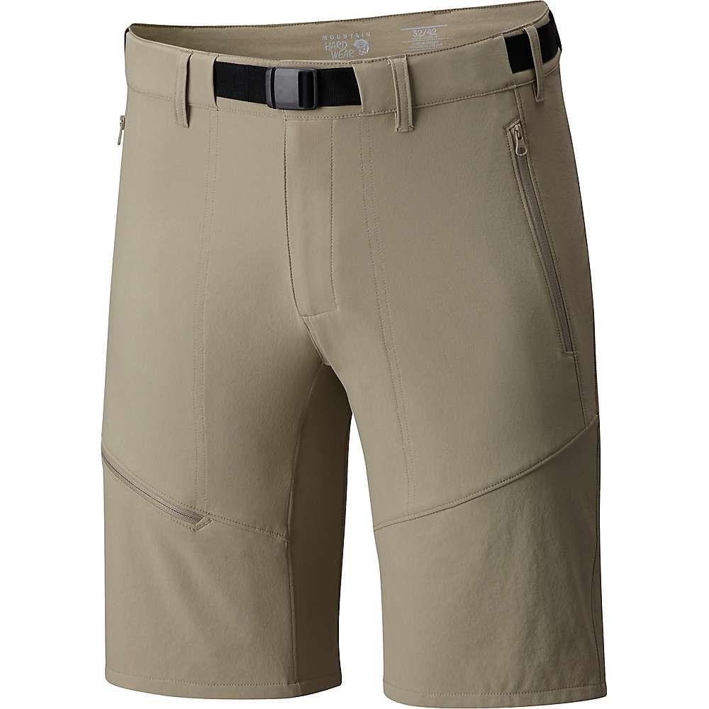 マウンテンハードウェア Mountain Hardwear メンズ ハイキング・登山 ボトムス・パンツ【Chockstone Hike Short】Badlands