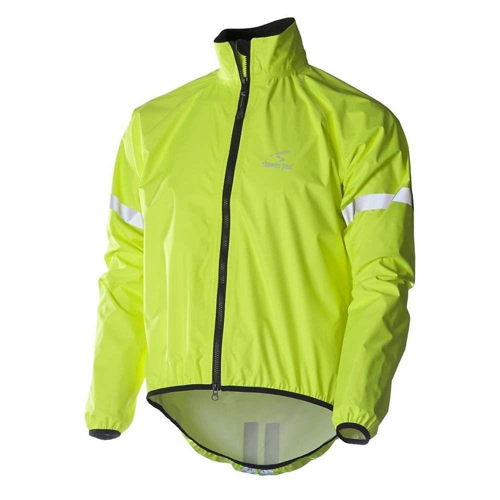 シャワーズ パス Showers Pass メンズ 自転車 アウター【Storm Jacket】Neon Yellow
