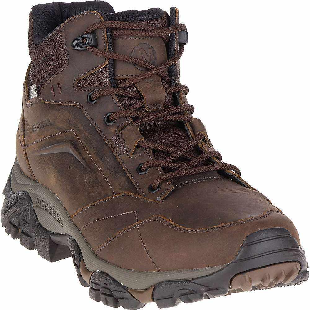 メレル Merrell メンズ ハイキング・登山 シューズ・靴【Moab Adventure Mid Waterproof Boot】Dark Earth S18