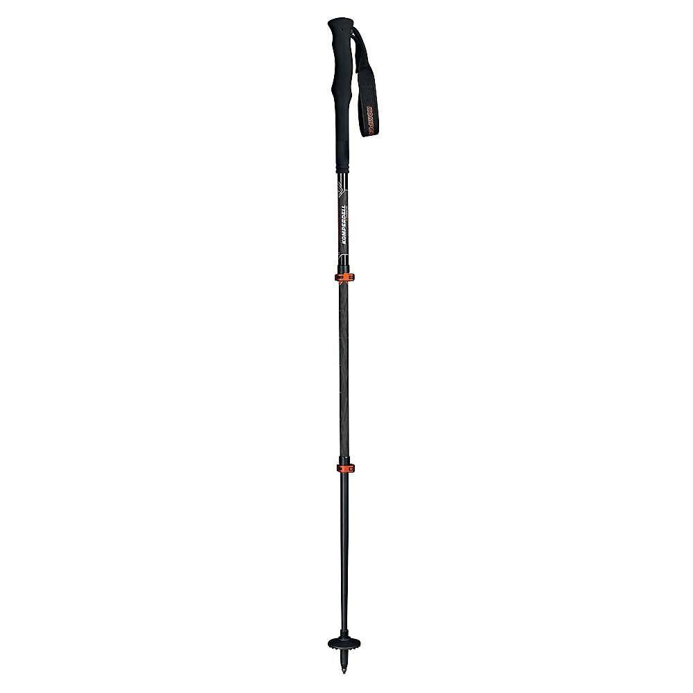 コンパーデル Komperdell メンズ ハイキング・登山【C3 Carbon Pro Compact Trekking Pole】Black/Orange