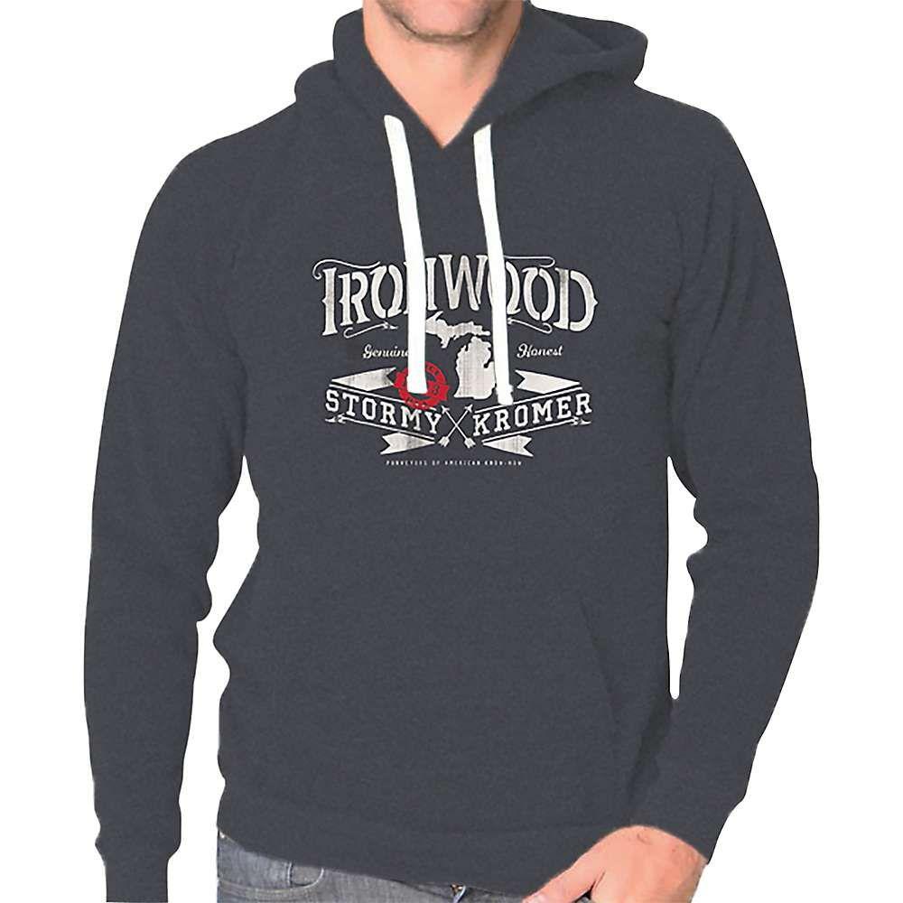 ストーミー クローマー Stormy Kromer メンズ ハイキング・登山 トップス【Fleece Hoodie】Ironwood/Tri Onyx
