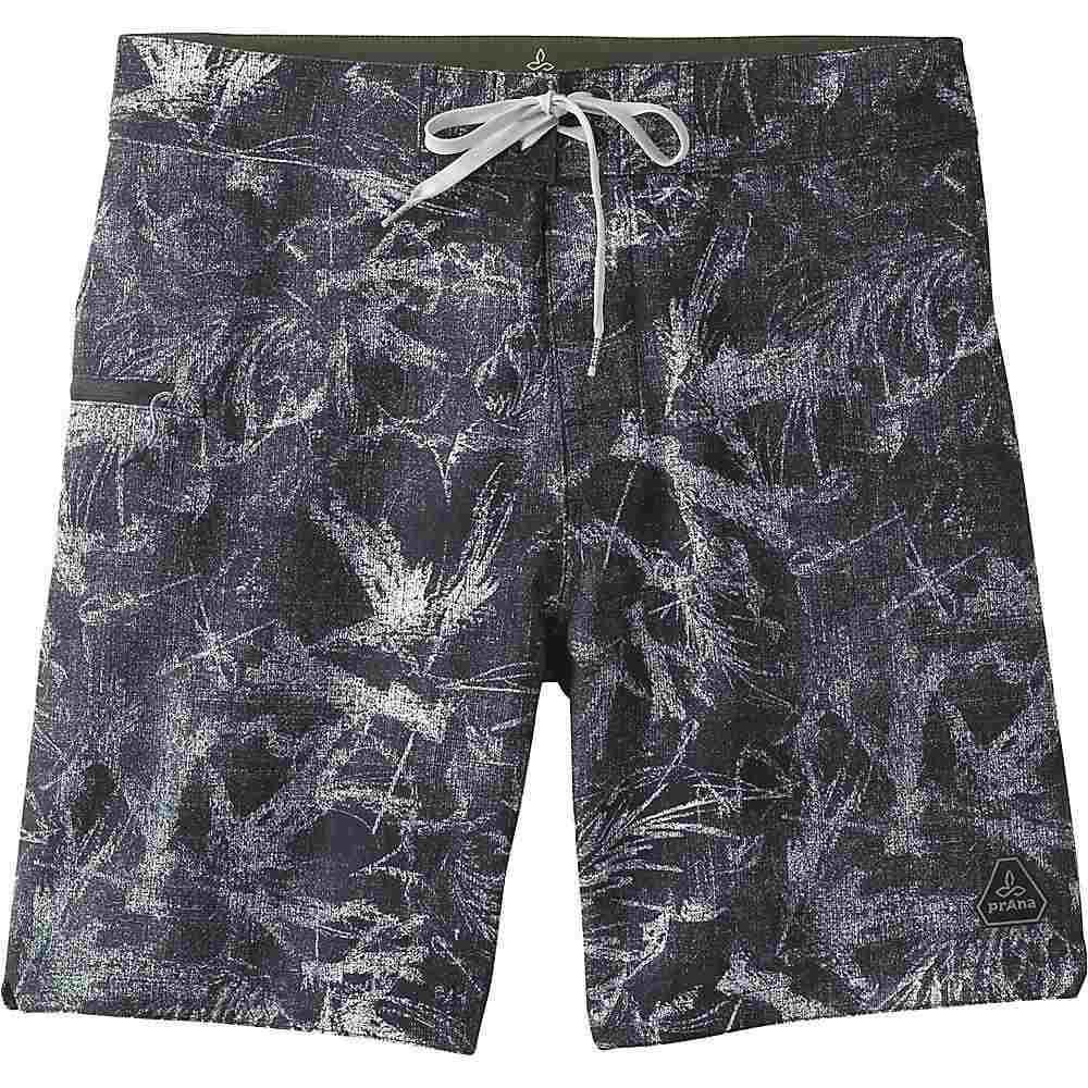 プラーナ Prana メンズ 水着・ビーチウェア 海パン【Fenton 8 Inch Boardshort】Black Foliage