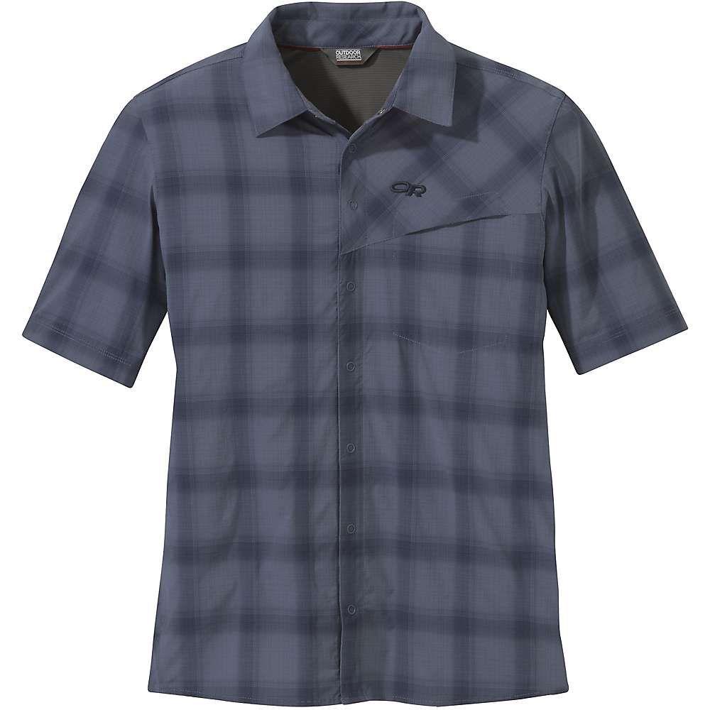 アウトドアリサーチ Outdoor Research メンズ ハイキング・登山 トップス【Astroman SS Sun Shirt】Steel Blue