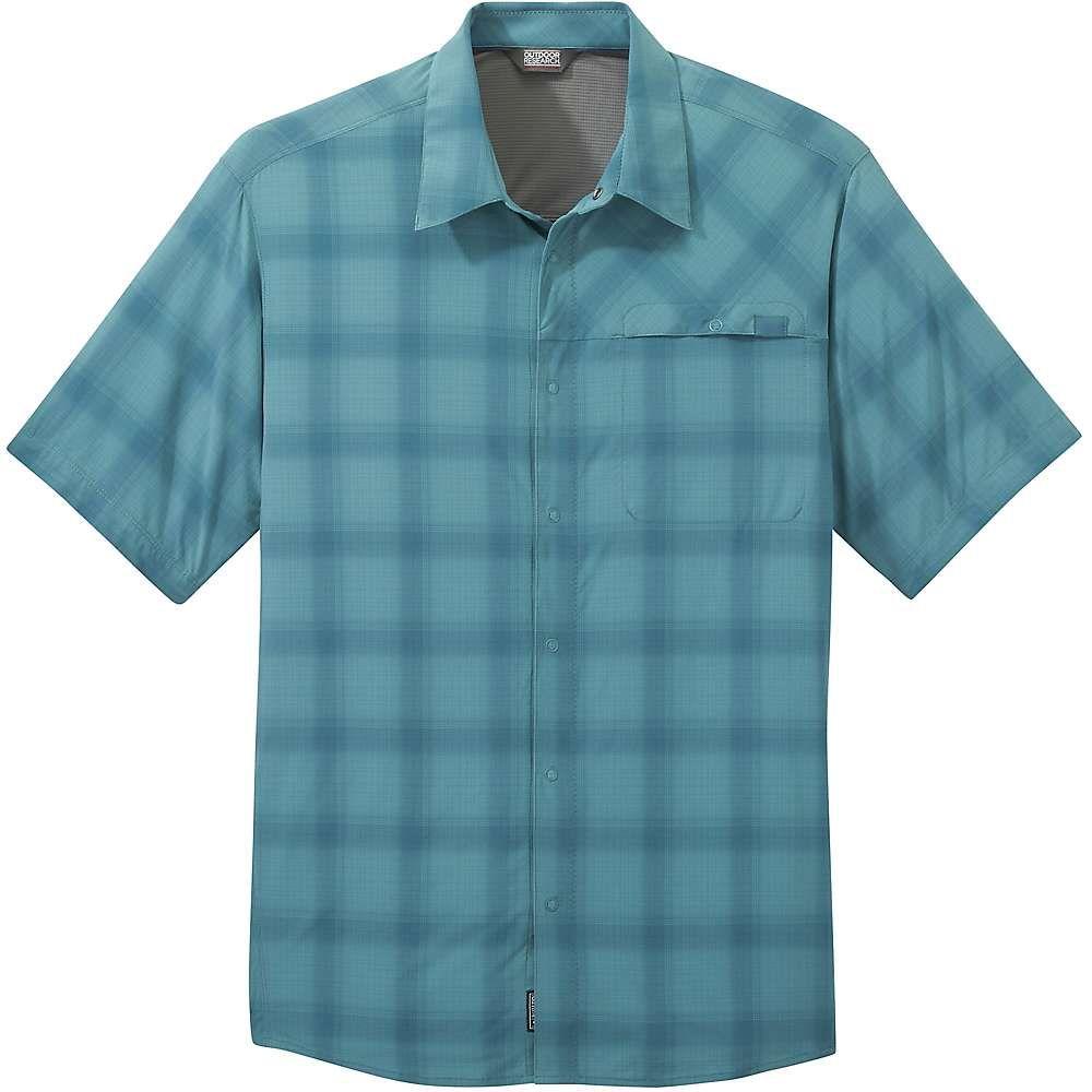 アウトドアリサーチ Outdoor Research メンズ ハイキング・登山 トップス【Astroman SS Sun Shirt】Washed Peacock