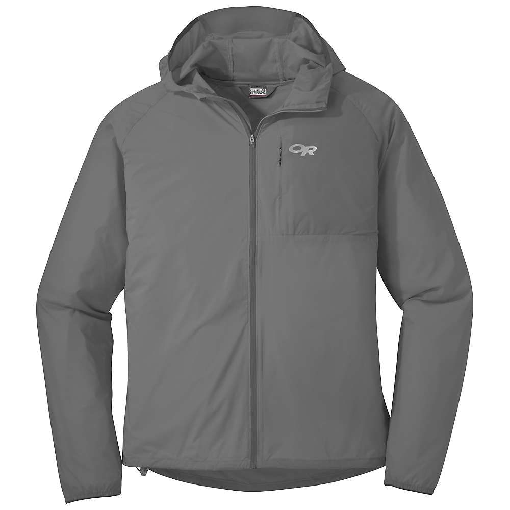 アウトドアリサーチ Outdoor Research メンズ ランニング・ウォーキング アウター【Tantrum II Hooded Jacket】Pewter