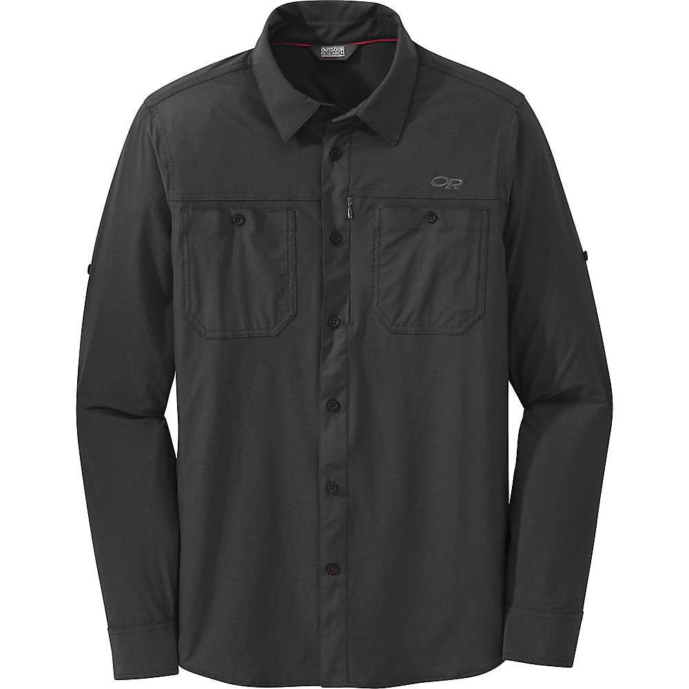 アウトドアリサーチ Outdoor Research メンズ ハイキング・登山 トップス【Wayward LS Shirt】Black
