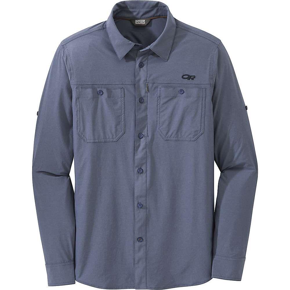 アウトドアリサーチ Outdoor Research メンズ ハイキング・登山 トップス【Wayward LS Shirt】Steel Blue