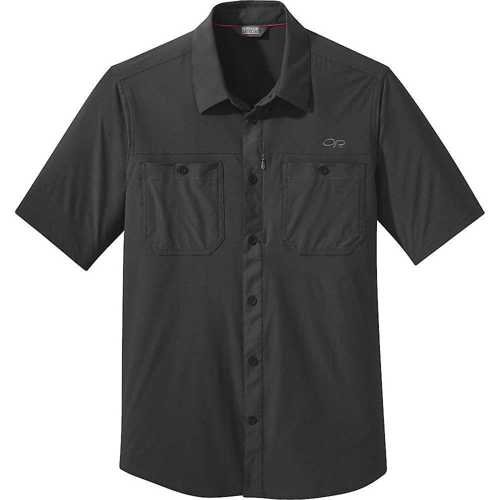 アウトドアリサーチ Outdoor Research メンズ ハイキング・登山 トップス【Wayward SS Shirt】Black