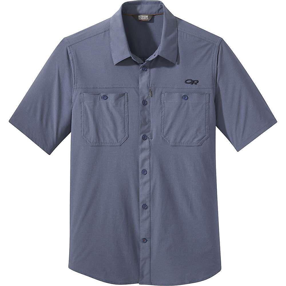 アウトドアリサーチ Outdoor Research メンズ ハイキング・登山 トップス【Wayward SS Shirt】Steel Blue