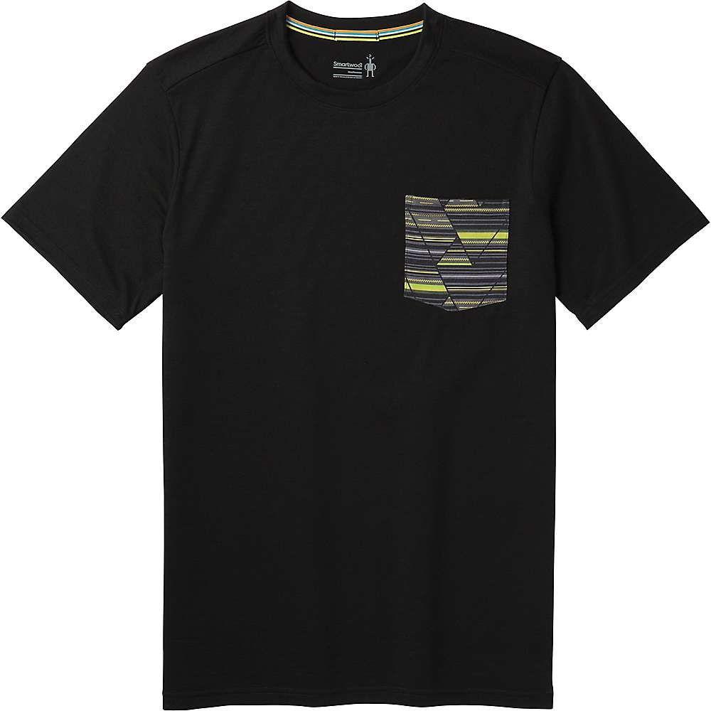 スマートウール Smartwool メンズ ハイキング・登山 トップス【Merino 150 Pocket Tee】Black