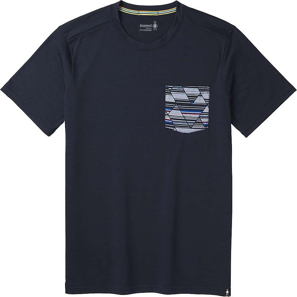 スマートウール Smartwool メンズ ハイキング・登山 トップス【Merino 150 Pocket Tee】Deep Navy
