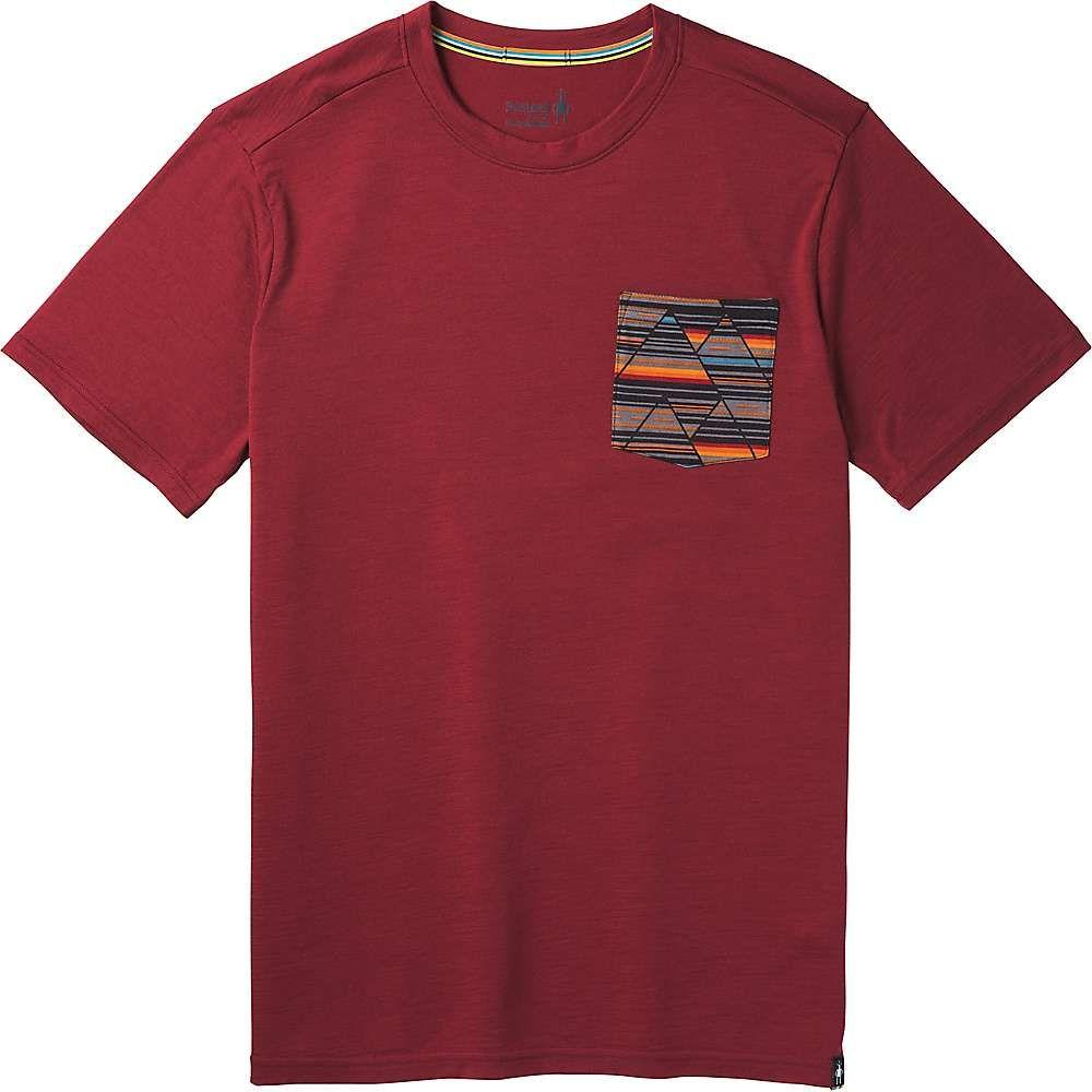 スマートウール Smartwool メンズ ハイキング・登山 トップス【Merino 150 Pocket Tee】Tibetan Red