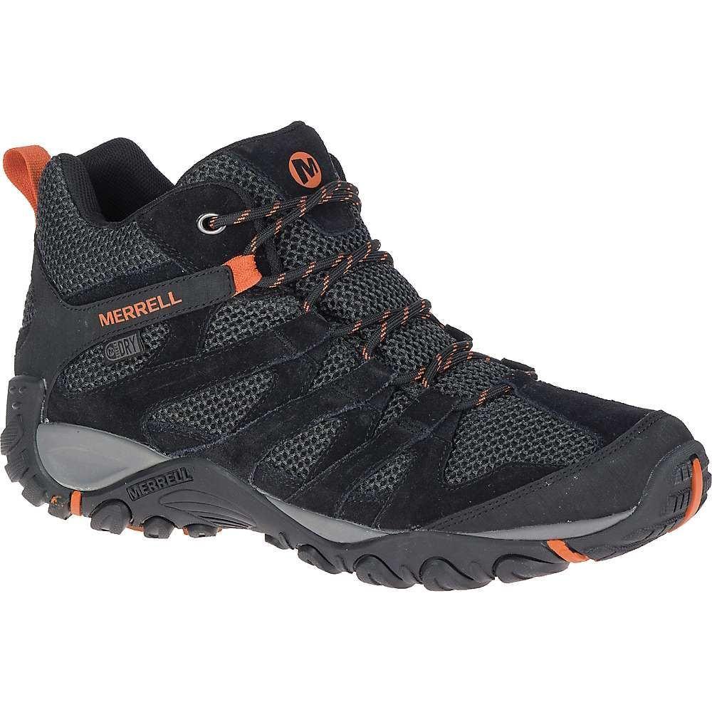 メレル Merrell メンズ ハイキング・登山 シューズ・靴【Alverstone Mid Waterproof Boot】Black