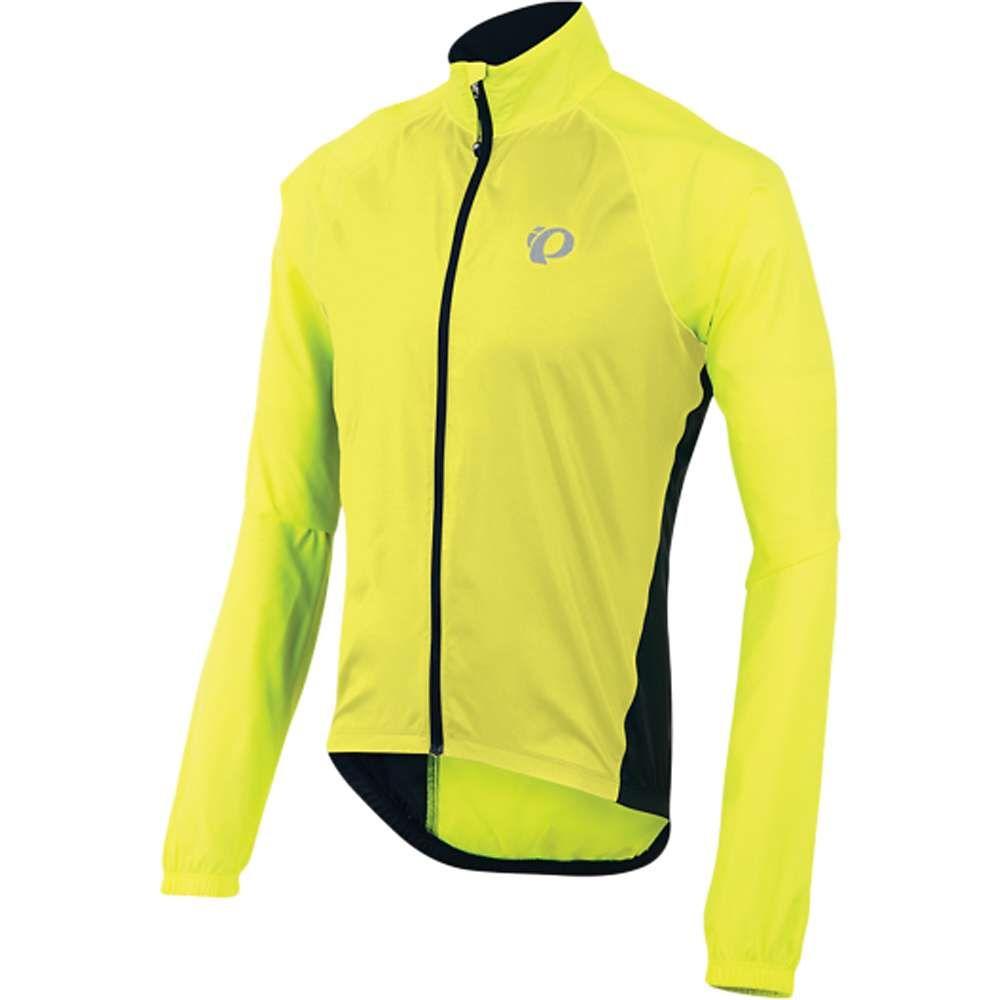 パールイズミ Pearl Izumi メンズ 自転車 アウター【Elite Barrier Jacket】Screaming Yellow/Black