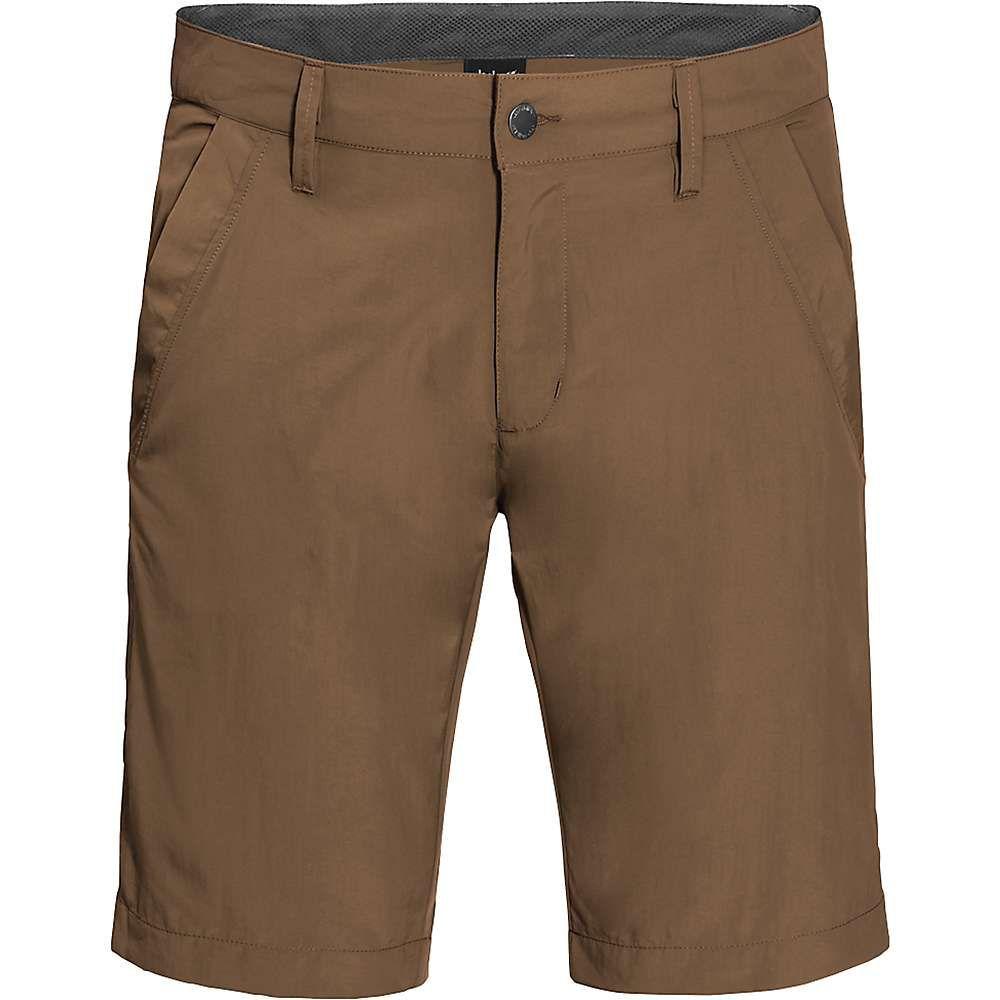 ジャックウルフスキン Jack Wolfskin メンズ ハイキング・登山 ボトムス・パンツ【Desert Valley Short】Bark Brown
