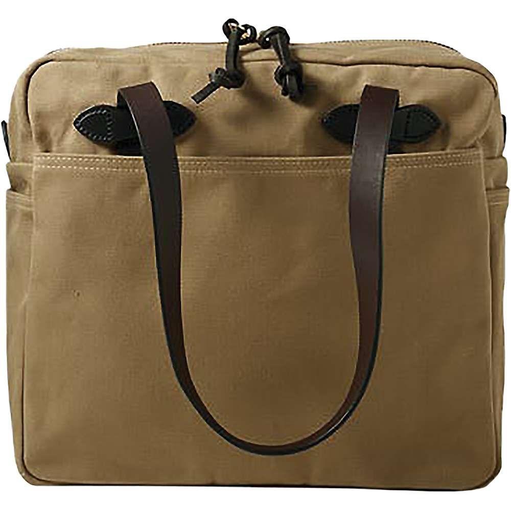 フィルソン Filson ユニセックス バッグ トートバッグ【Tote Bag with Zipper】Tan