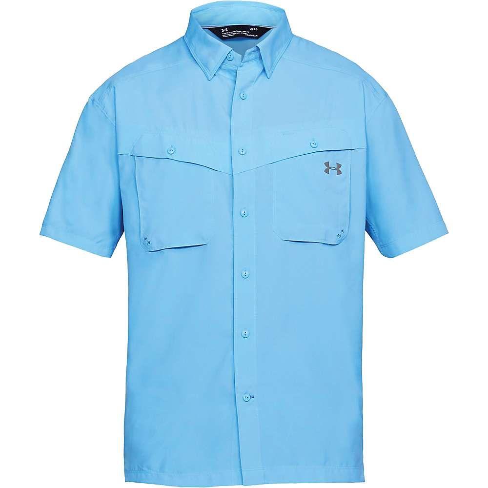 アンダーアーマー Under Armour メンズ ハイキング・登山 トップス【UA Tide Chaser SS Shirt】Carolina Blue/Steel