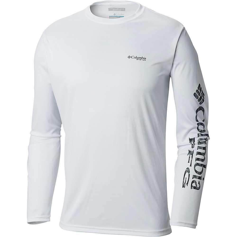 おすすめ コロンビア Columbia Tackle メンズ コロンビア ハイキング Shirt】White/Black・登山 トップス【Terminal Tackle PFG Sleeve LS Shirt】White/Black Multi Fish, 麺のたつみ:f8f1c688 --- clftranspo.dominiotemporario.com