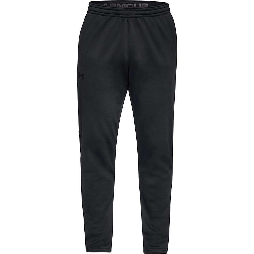 アンダーアーマー Under Armour メンズ ハイキング・登山 ボトムス・パンツ【Armour Fleece Pant】Black/Black