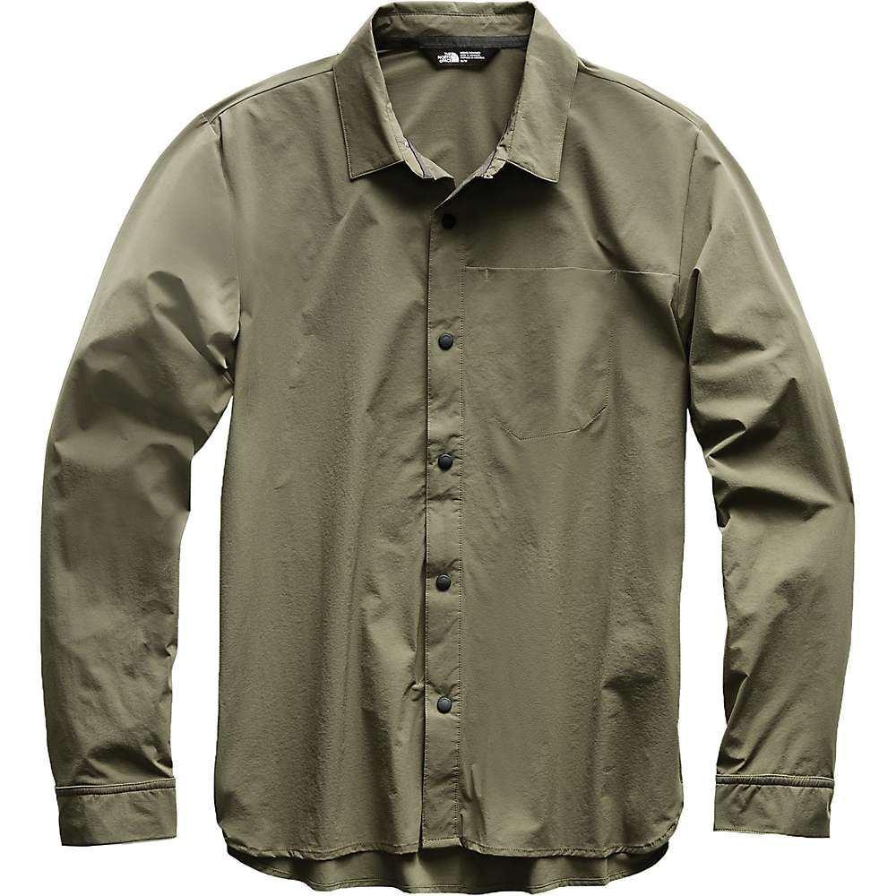 ザ ノースフェイス The North Face メンズ ハイキング・登山 トップス【North Dome LS Shirt】New Taupe Green