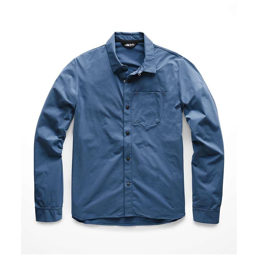 ザ ノースフェイス The North Face メンズ ハイキング・登山 トップス【North Dome LS Shirt】Shady Blue