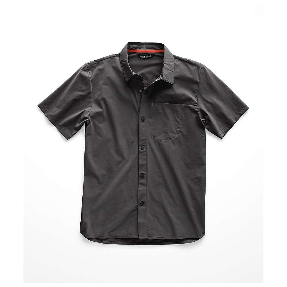 ザ ノースフェイス The North Face メンズ ハイキング・登山 トップス【North Dome SS Shirt】Asphalt Grey