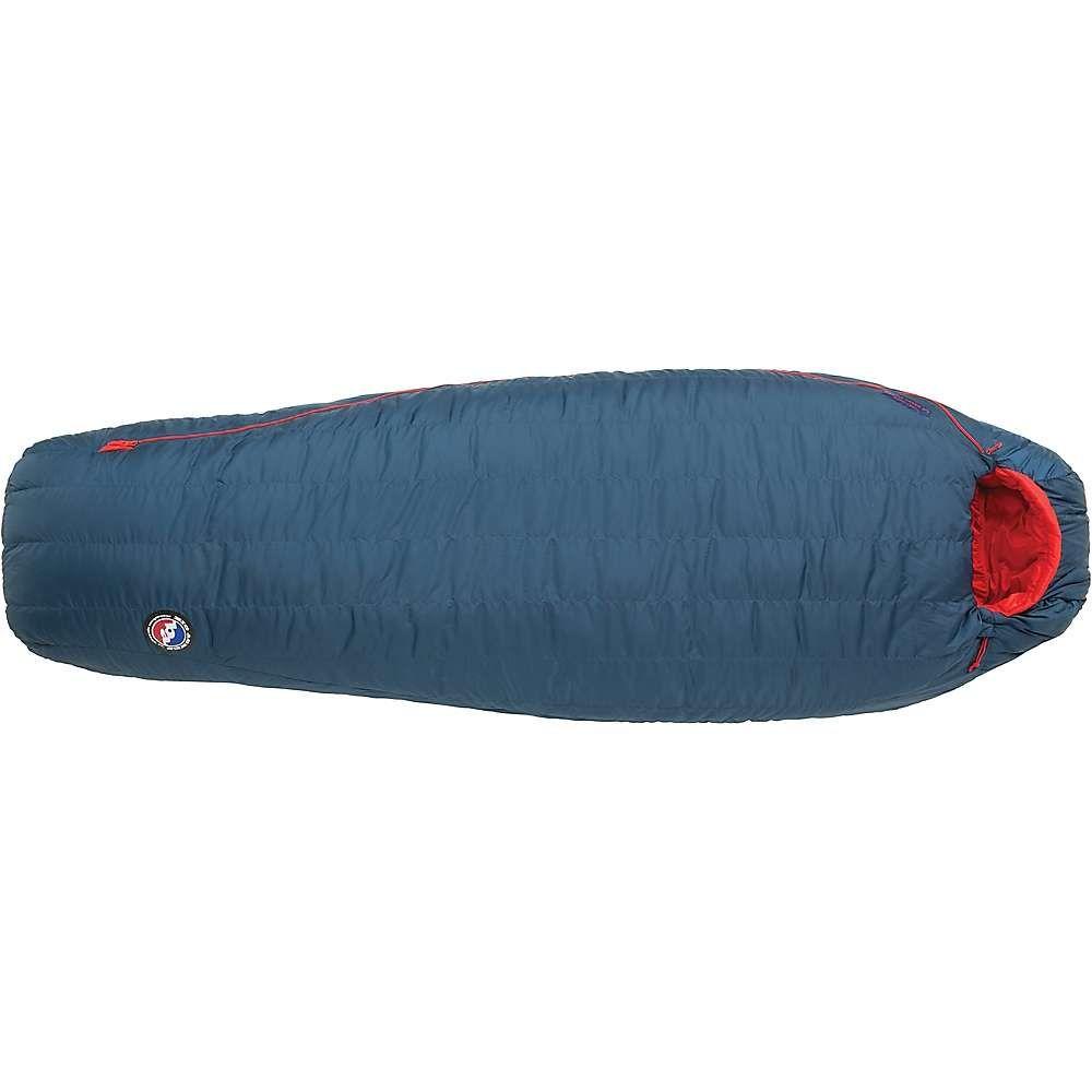 ビッグアグネス Big Agnes ユニセックス ハイキング・登山【Anvil Hor 0 Degree Sleeping Bag】Blue/Red