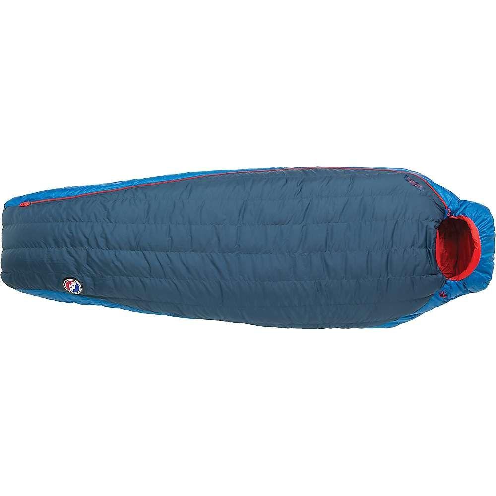 ビッグアグネス Big Agnes ユニセックス ハイキング・登山【Anvil Horn 30 Degree Sleeping Bag】Blue/Red