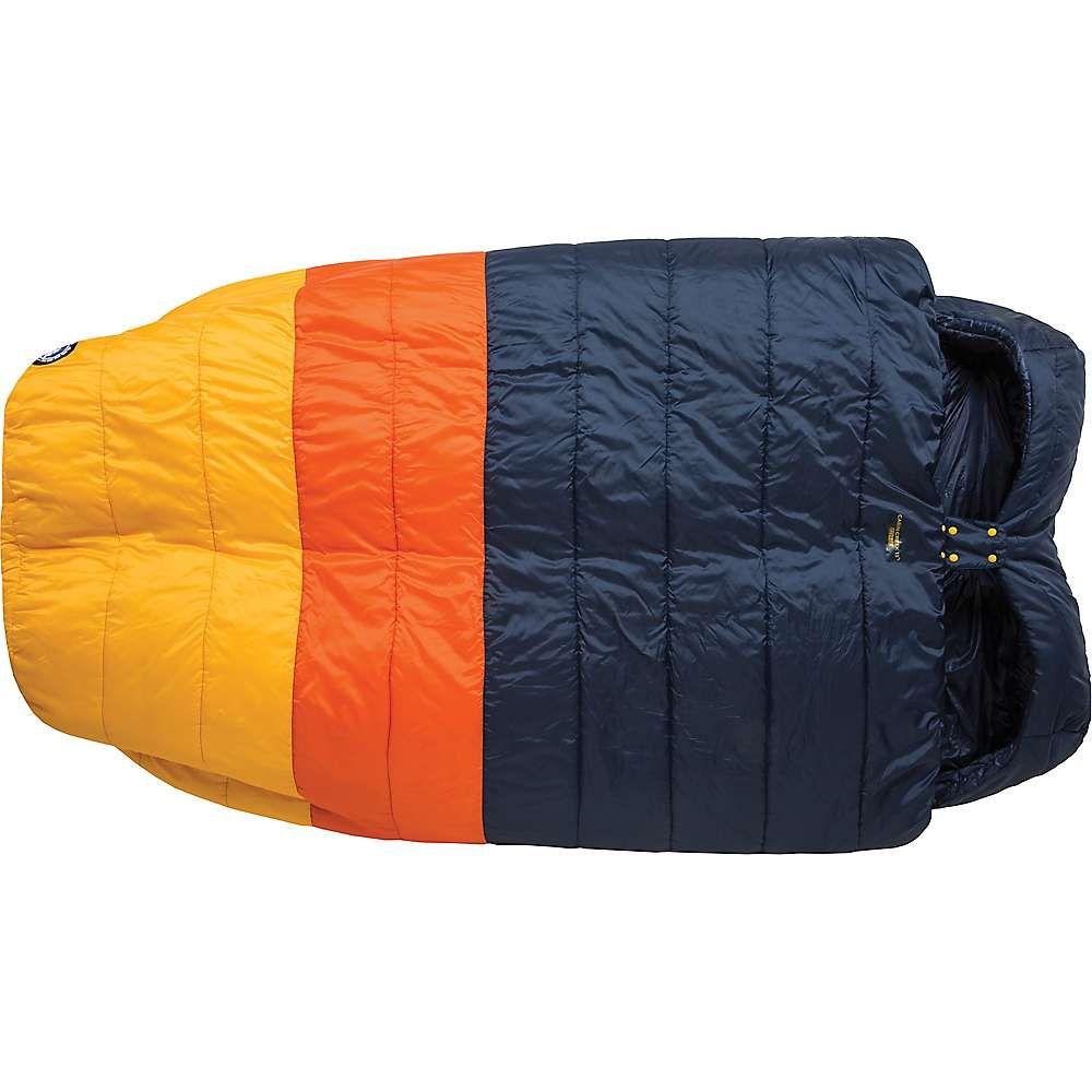 ビッグアグネス Big Agnes ユニセックス ハイキング・登山【Cabin Creek 15 Degree Sleeping Bag】Navy/Orange/Yellow
