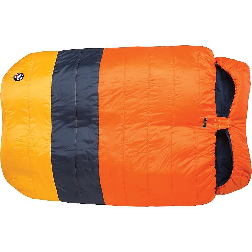 ビッグアグネス Big Agnes ユニセックス ハイキング・登山【Dream Island 15 Degree Sleeping Bag】Orange/Navy/Yellow