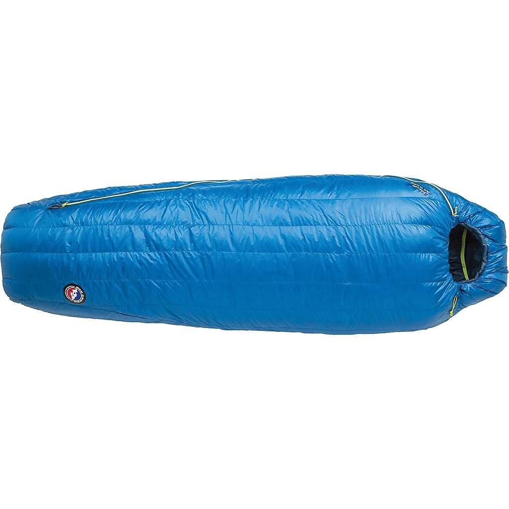 ビッグアグネス Big Agnes ユニセックス ハイキング・登山【Mystic UL 15 Degree Sleeping Bag】Blue
