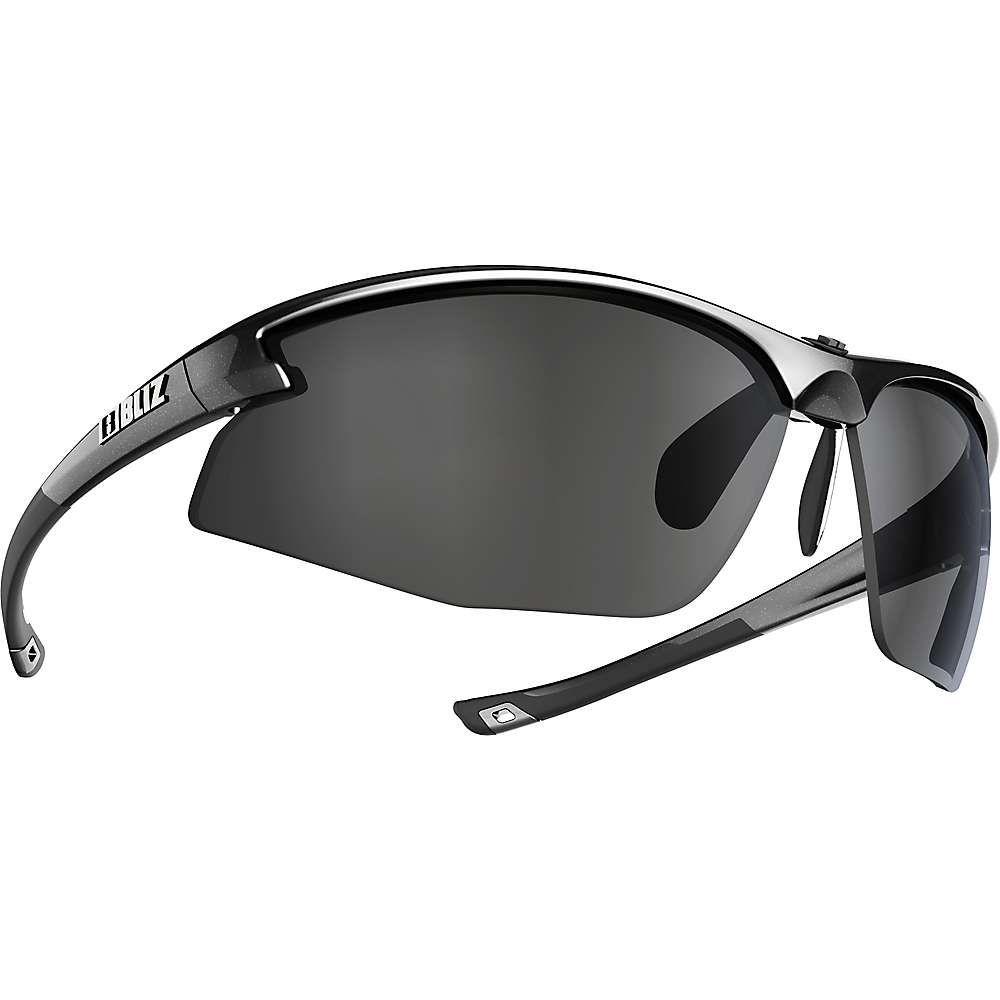 ブリッツ Bliz ユニセックス スポーツサングラス【Motion Sunglasses】Metallic Black/Smoke/Silver Mirror
