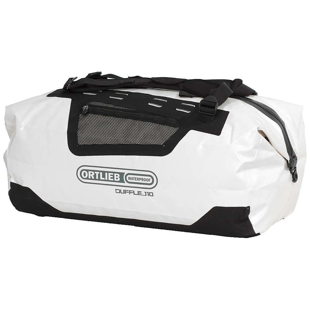 オートリービー Ortlieb ユニセックス バッグ ボストンバッグ・ダッフルバッグ【Duffel 110L Bag】White/Black