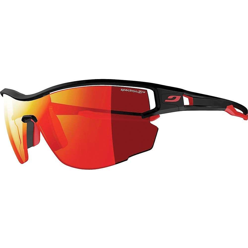 ジュルボ Julbo ユニセックス スポーツサングラス【Aero Sunglasses】Black/Red/Spectron 3CF