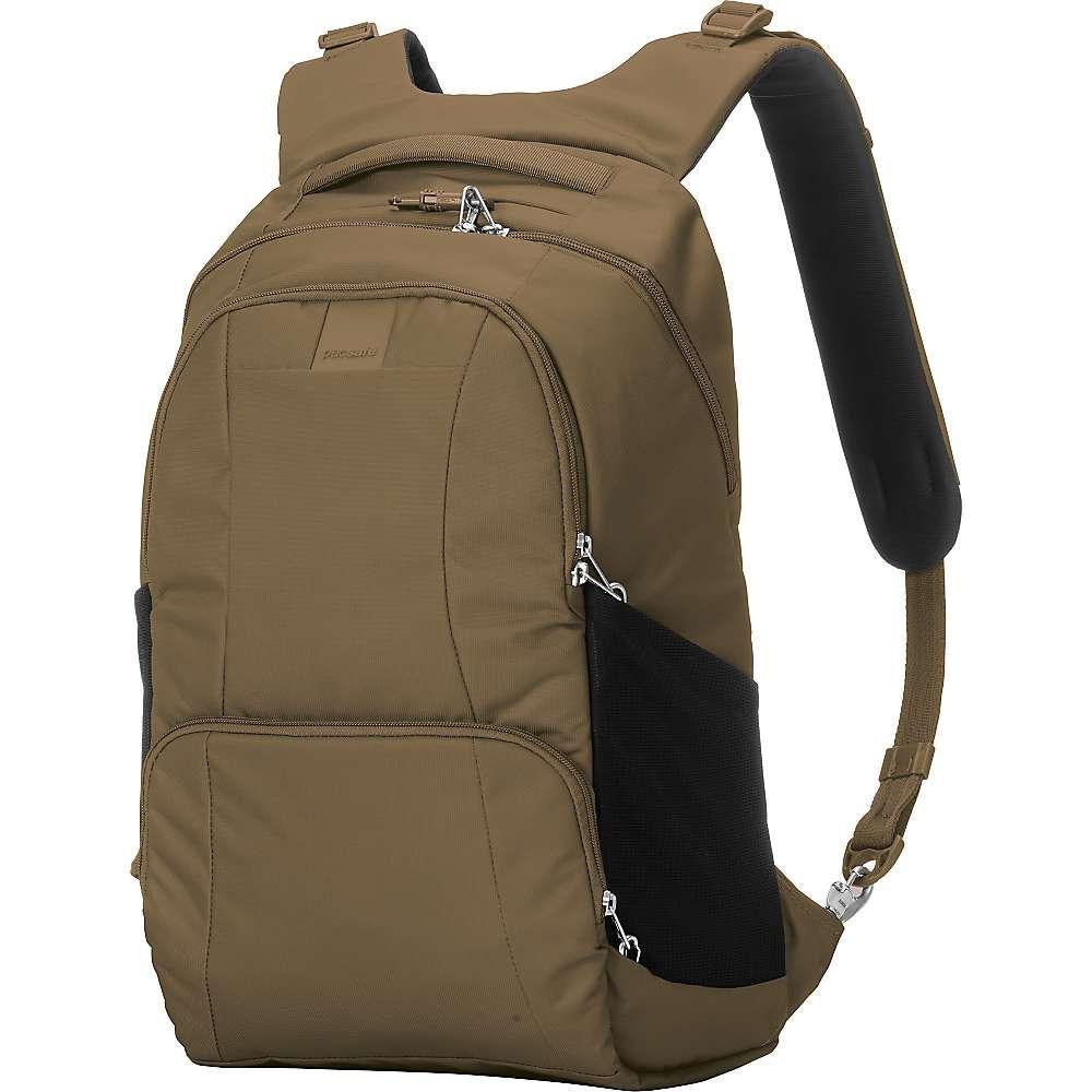 パックセイフ Pacsafe ユニセックス バッグ バックパック・リュック【Metrosafe LS450 Anti-Theft 25L Backpack】Sandstone