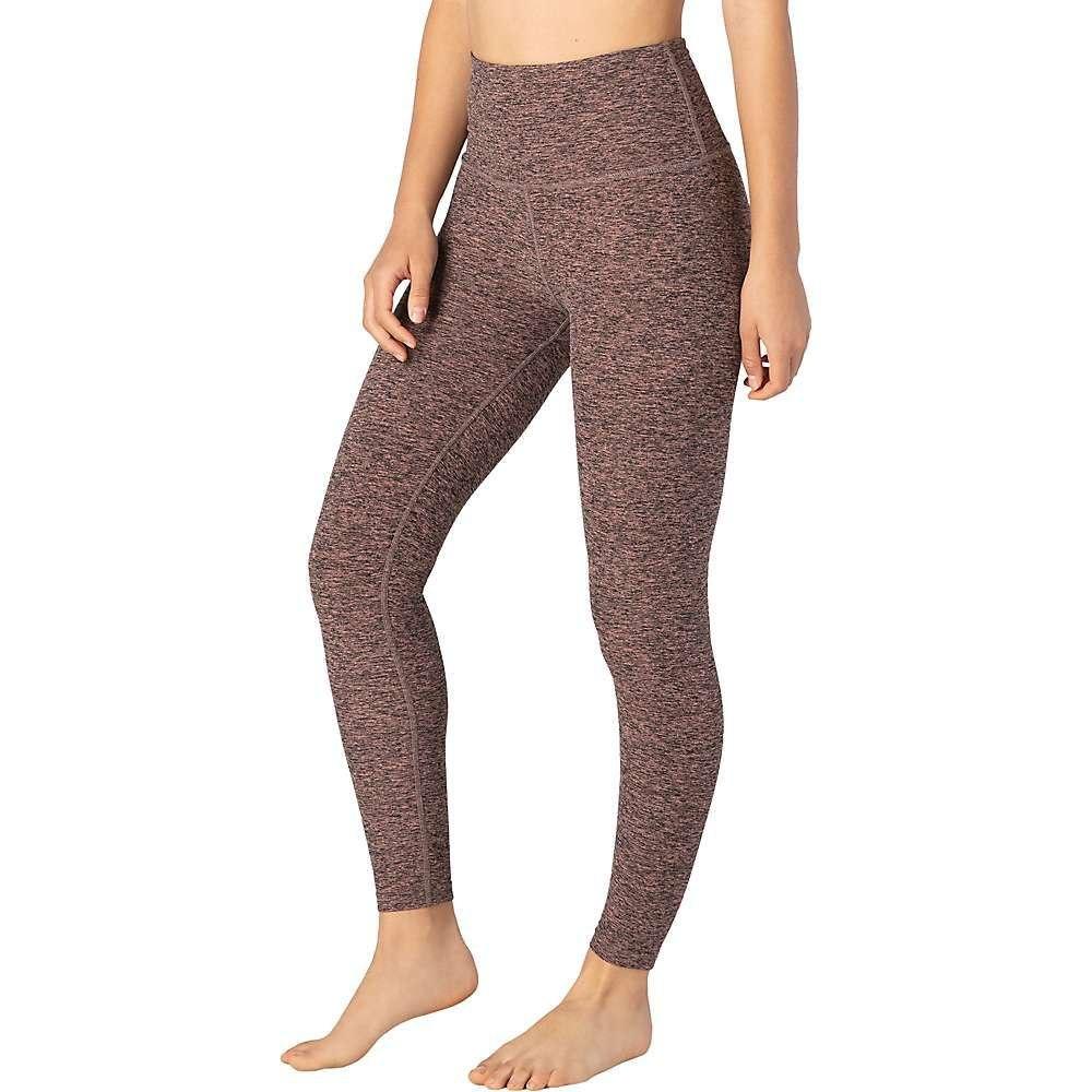 ビヨンドヨガ Beyond Yoga レディース ヨガ・ピラティス ボトムス・パンツ【Spacedye High Waist Long Legging】Black Pink Lei