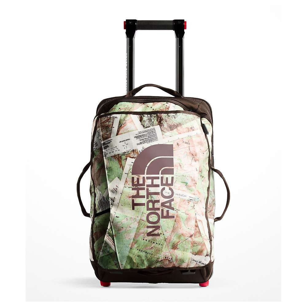 ザ ノースフェイス The North Face ユニセックス バッグ スーツケース・キャリーバッグ【Rolling Thunder 22IN Wheeled Luggage】TNF White Topo Map Print/Vintage White
