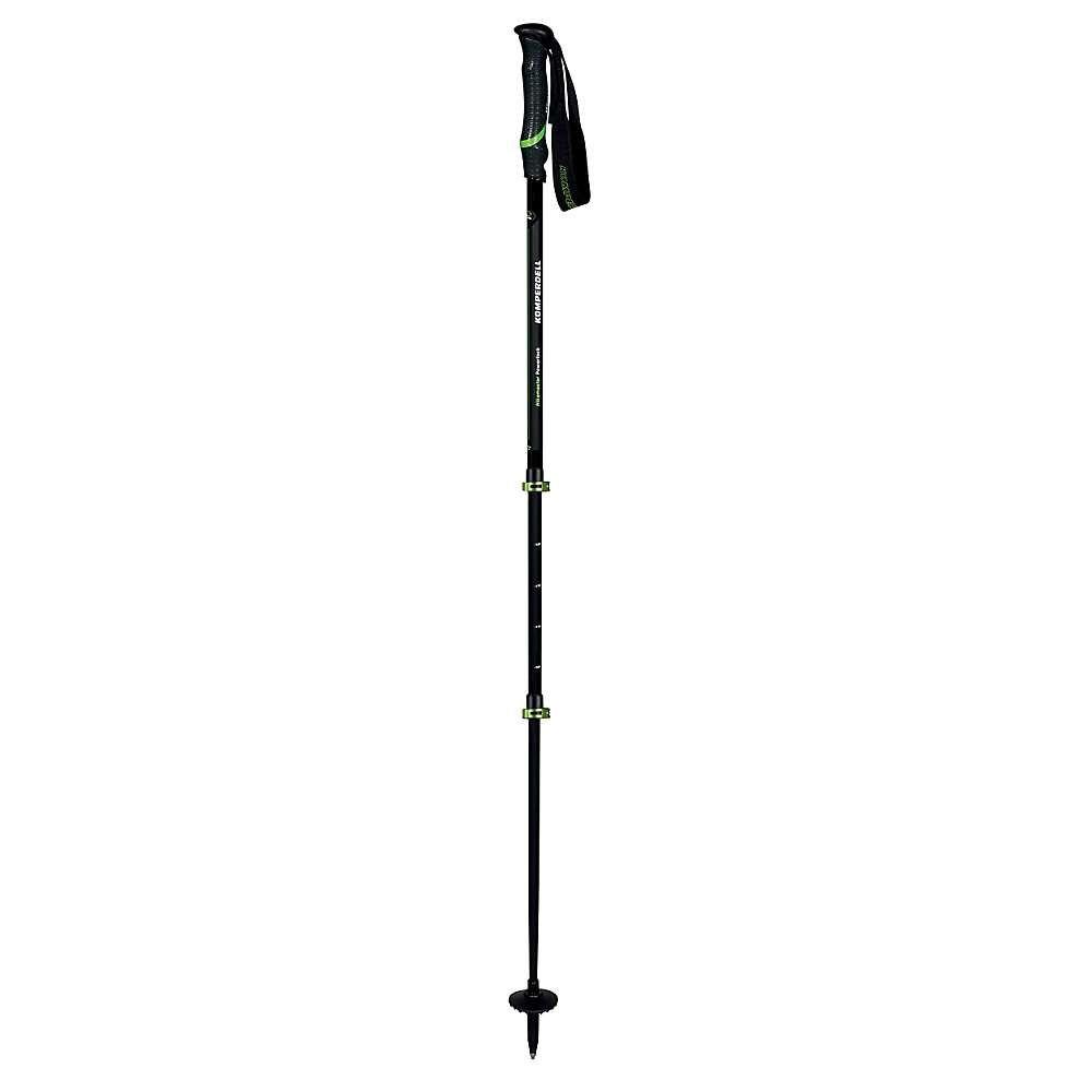 コンパーデル Komperdell ユニセックス ハイキング・登山【Hikemaster Powerlock Trekking Pole】Black/Green