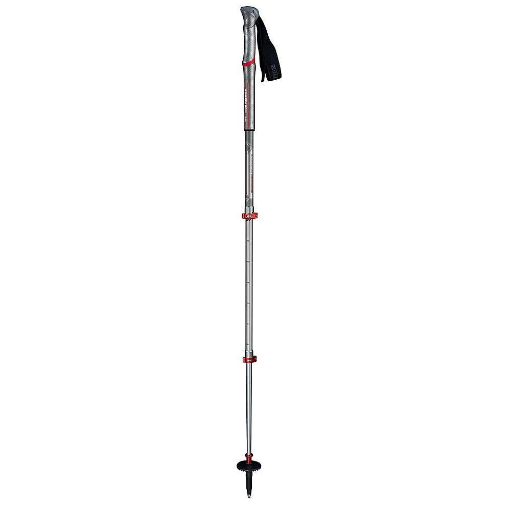 コンパーデル Komperdell ユニセックス ハイキング・登山【Shockmaster Pro Compact Powerlock Trekking Pole】Silver/Red