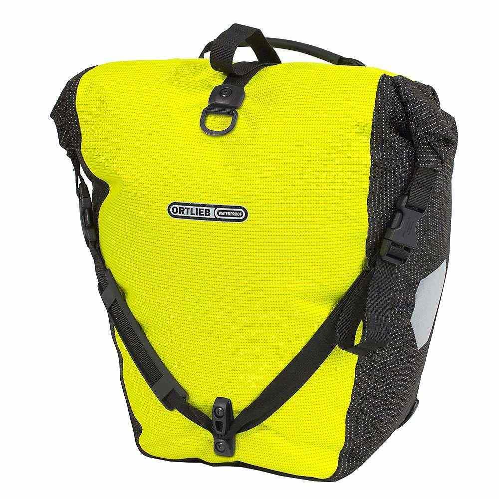 オートリービー Ortlieb ユニセックス 自転車【Back Roller High Visibility Pannier Bag】Neon Yellow/Black Reflective