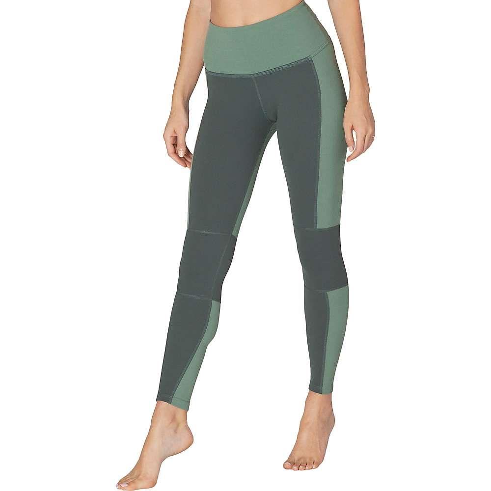 ビヨンドヨガ Beyond Yoga レディース ヨガ・ピラティス ボトムス・パンツ【High Waisted Midi Legging】Aloha Green