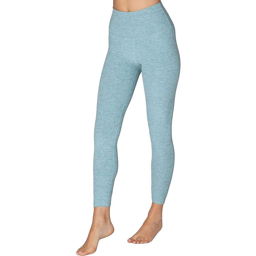 ビヨンドヨガ Beyond Yoga レディース ヨガ・ピラティス ボトムス・パンツ【Spacedye Caught In The Midi High Waisted Legging】Blue Crush Sky Blue