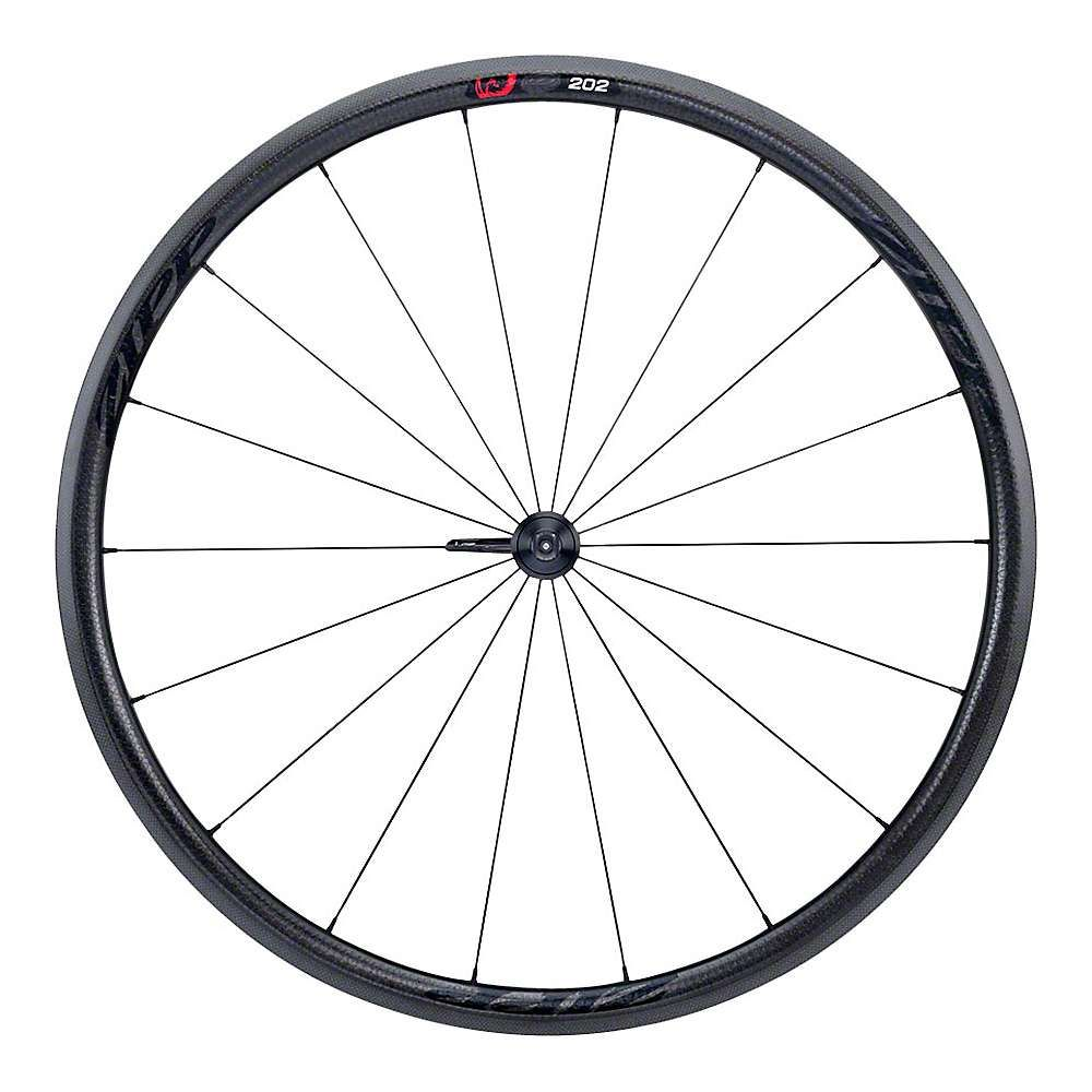 ジップ Zipp ユニセックス 自転車【202 Firecrest Carbon Clincher Disc Brake Road Wheel - Tubeless】Black