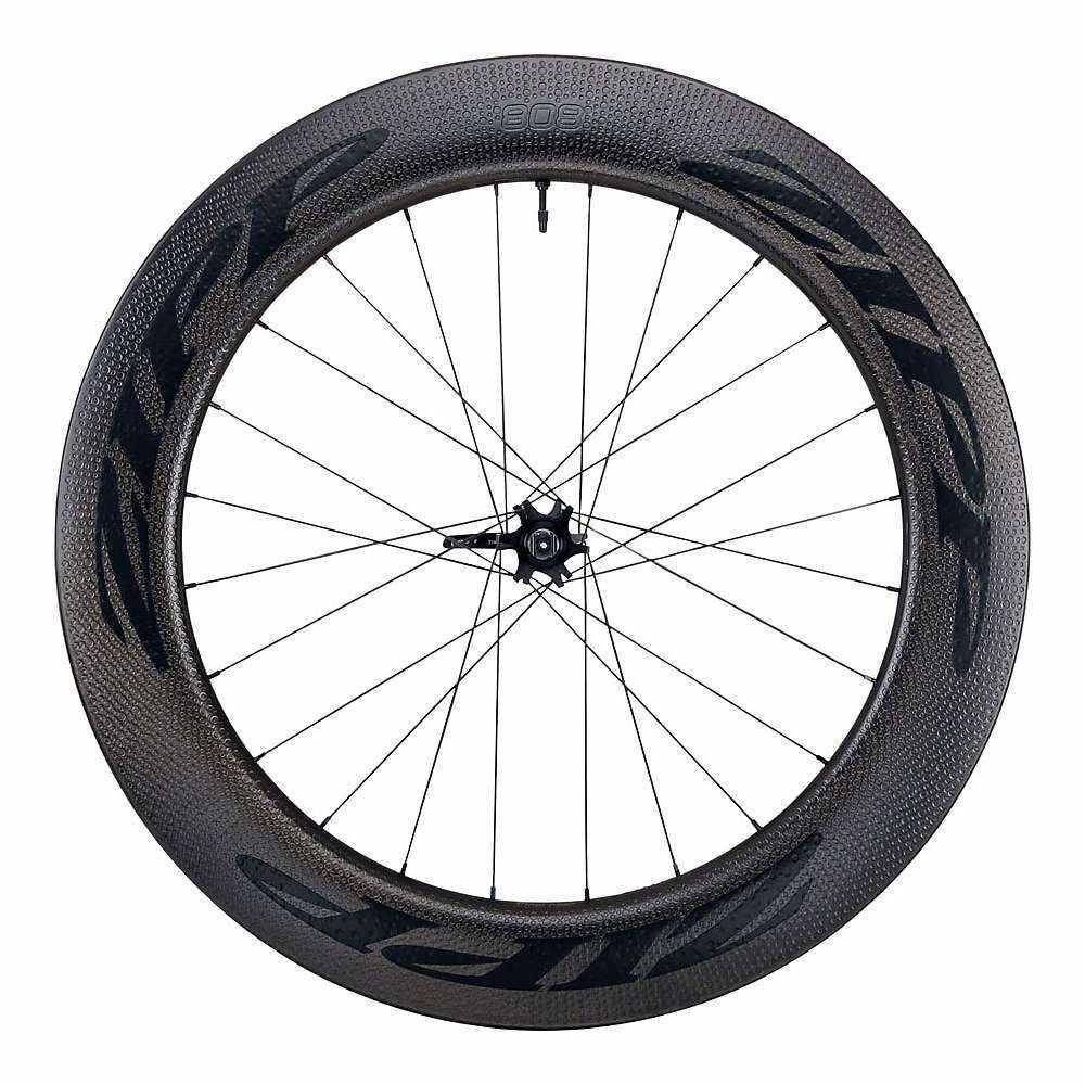 ジップ Zipp ユニセックス 自転車【808 Firecrest Carbon Clincher Disc Brake Road Wheel - Tubeless】Black