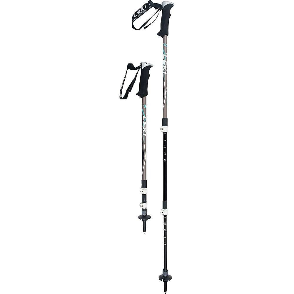 レキ Leki レディース ハイキング・登山【Legacy Lady DSS Trekking Poles】Grey/White/Black